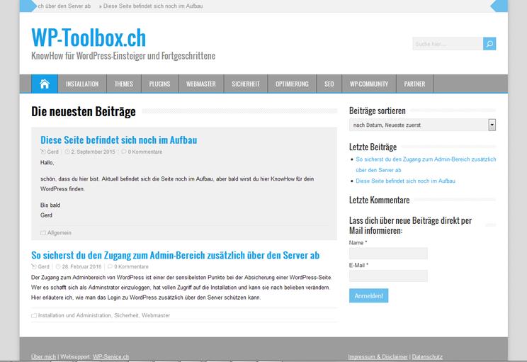 WP-Toolbox.ch