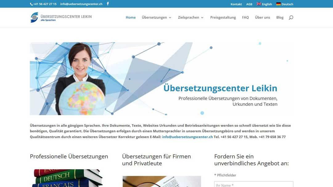 Uebersetzungscenter.ch